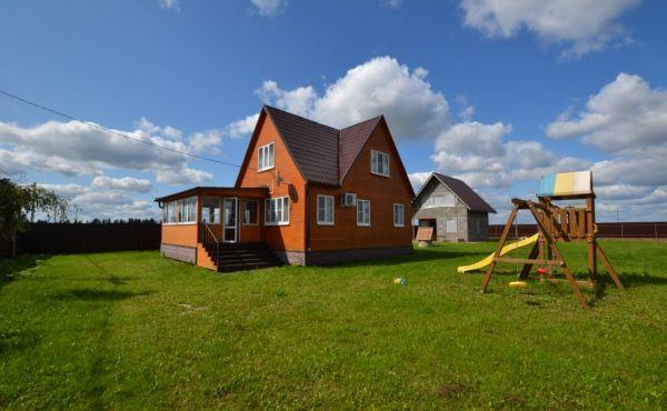 Жилой дом для круглогодичного проживания в селе Осташево